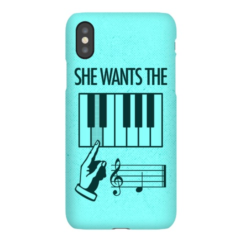 She Wants The D Phone Case