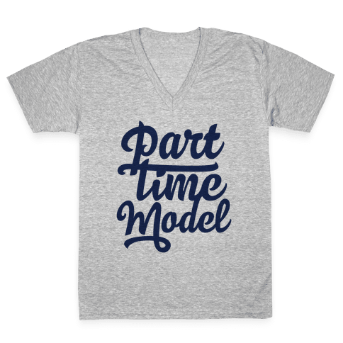 Part Time Model V-Neck Tee Shirt