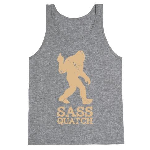 Sass Quatch Crossing Tank Top