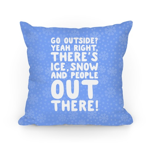 Winter Introvert Pillow