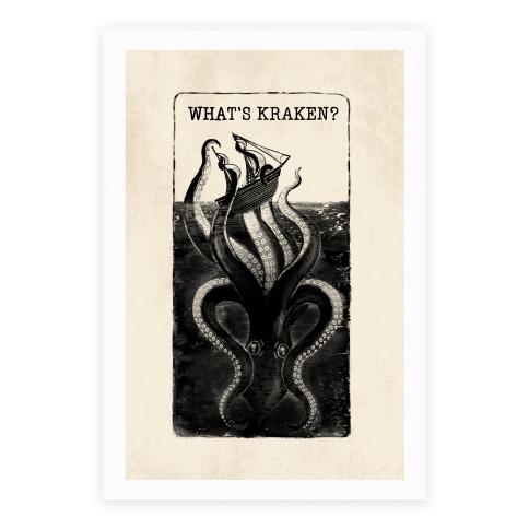 What's Kraken? Poster