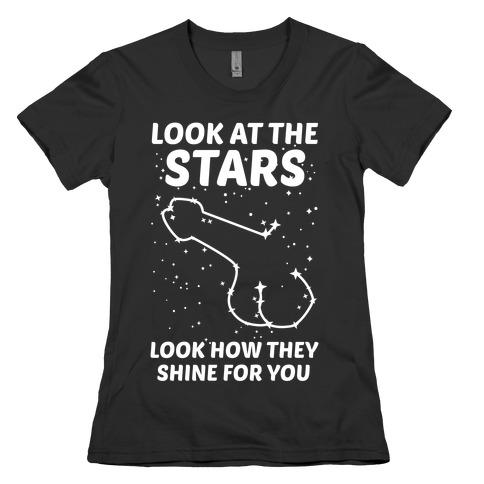 Penis Constellation Womens T-Shirt
