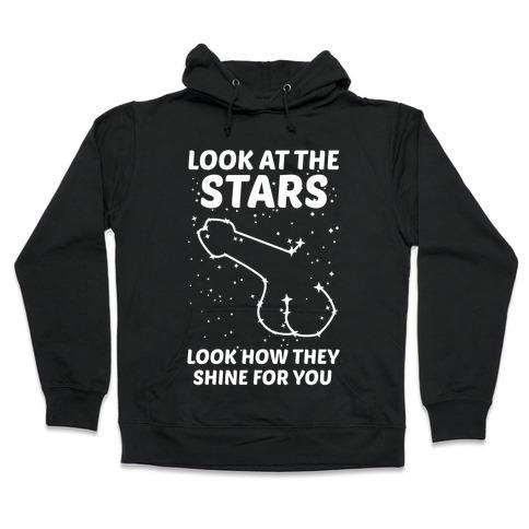 Penis Constellation Hooded Sweatshirt