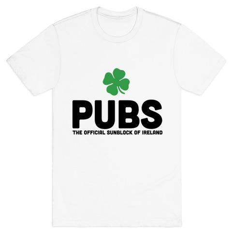 Pubs Mens T-Shirt