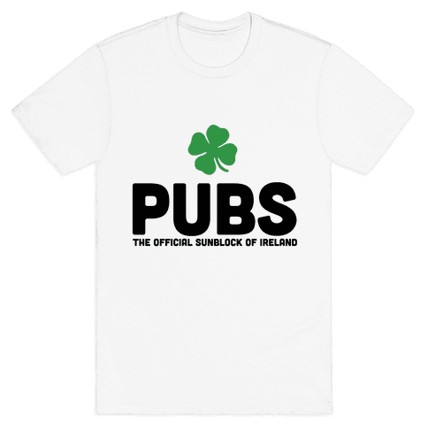 Pubs Mens T-Shirt
