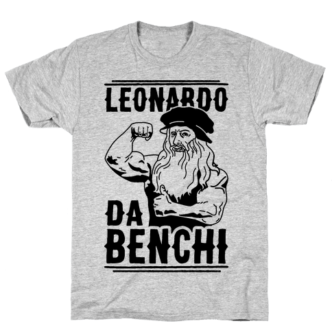 Leonardo Da Benchi Mens T-Shirt