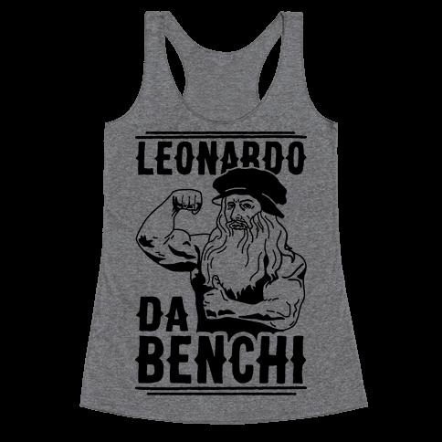 Leonardo Da Benchi Racerback Tank Top