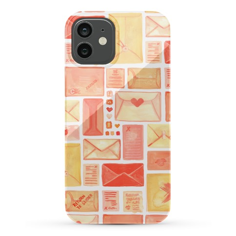 Love Letter Pattern Phone Case