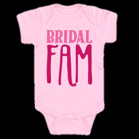 Bridal Fam Baby Onesy