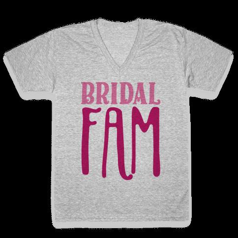 Bridal Fam V-Neck Tee Shirt