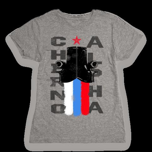 Rim: Cherno Alpha-Russia Womens T-Shirt