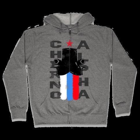 Rim: Cherno Alpha-Russia Zip Hoodie