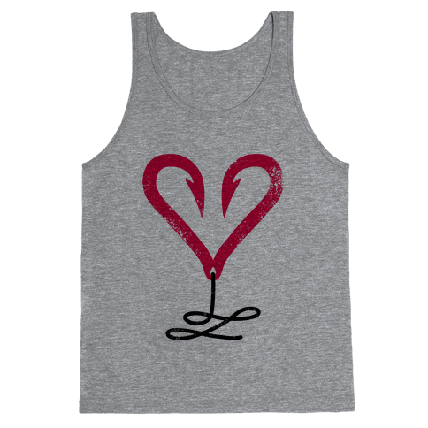 I Love Fishing (Hook Heart)
