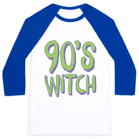 90's Witch Baseball Tee