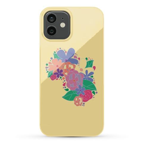 Flower Garden Case (Yellow) Phone Case