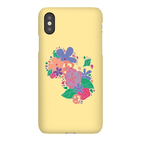 Flower Garden Case (Yellow) Phone Case