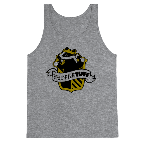 Huffletuff (No Text) Tank Top