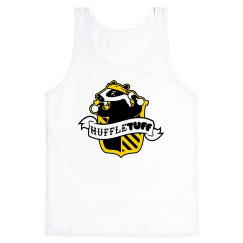 Huffletuff (No Text) Tank Top