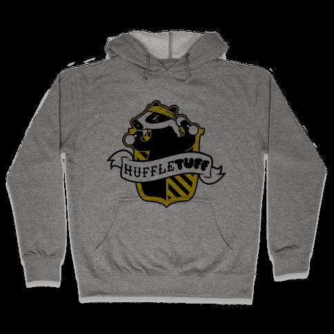 Huffletuff (No Text) Hooded Sweatshirt