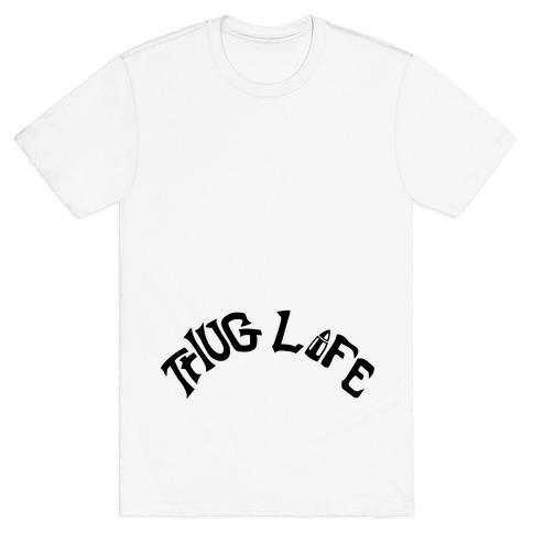 Thug Life Tattoo Mens T-Shirt