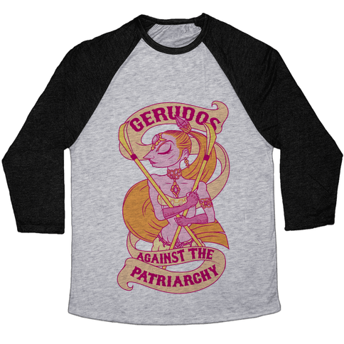 Gerudos Against The Patriarchy Baseball Tee