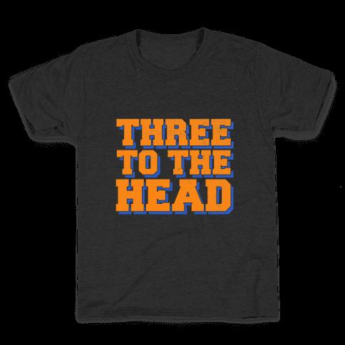 Three 2 the Head Kids T-Shirt