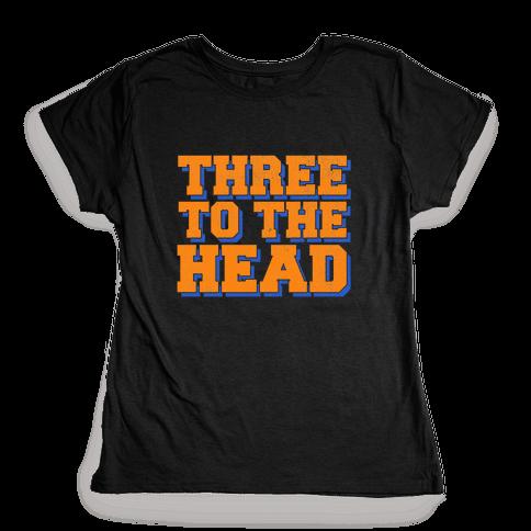Three 2 the Head Womens T-Shirt