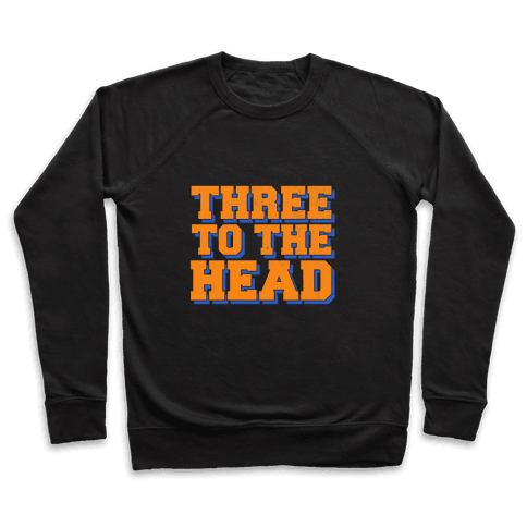Three 2 the Head Pullover