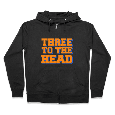 Three 2 the Head Zip Hoodie
