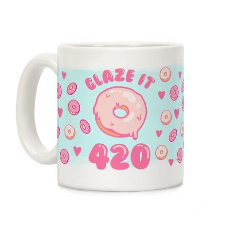 Glaze It 420 Donut Coffee Mug