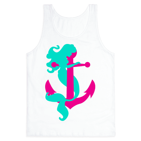 Mermaid Anchor Tank Top