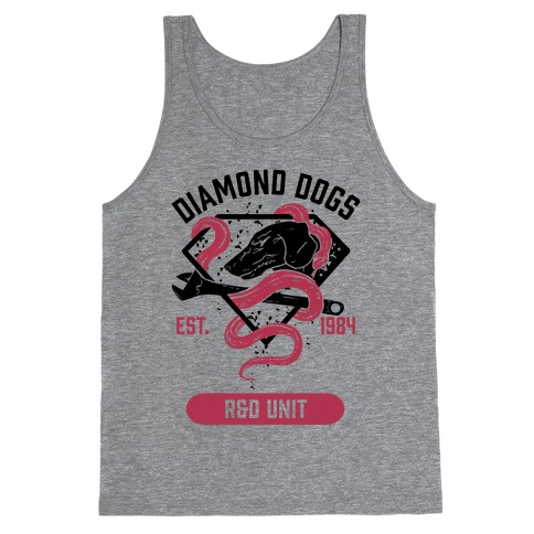 Diamond Dogs R&D Unit Tank Top