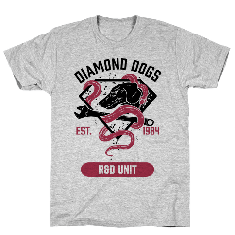 Diamond Dogs R&D Unit Mens T-Shirt