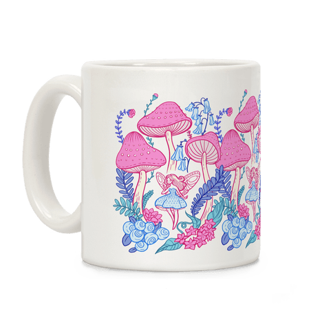 Pastel Fairy Garden Coffee Mug