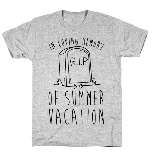 In Loving Memory Of Summer Vacation T-Shirt