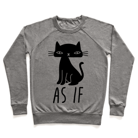 As If Cat Pullover