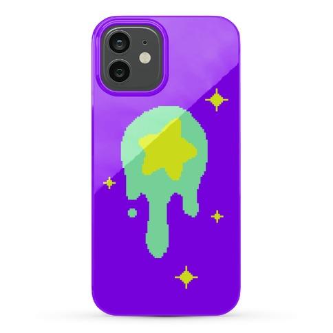 Gooey Pixel Star Phone Case