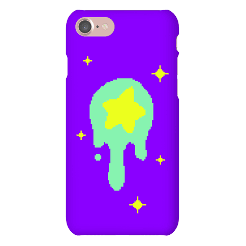 Gooey Pixel Star Phone Case
