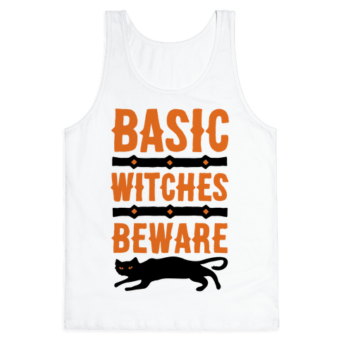 Basic WItches Beware Tank Top