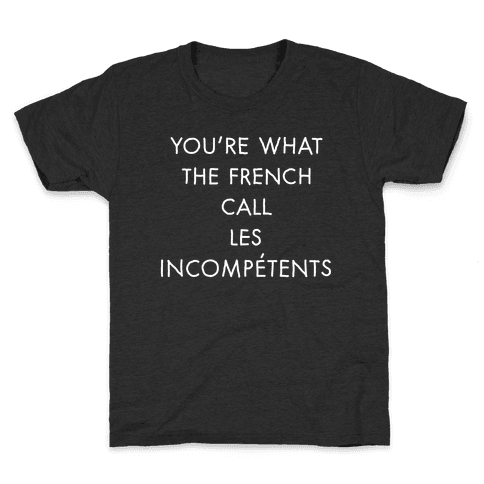 Les Incompetents Kids T-Shirt