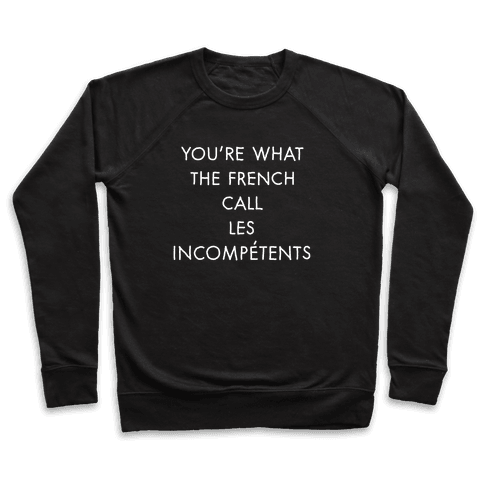 Les Incompetents Pullover