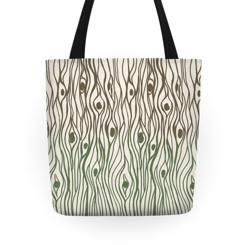 Wood Grain Pattern Tote