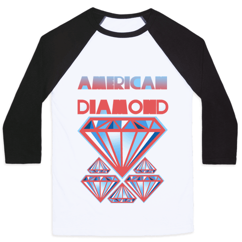 American Diamond Baseball Tee
