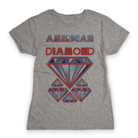 American Diamond Womens T-Shirt