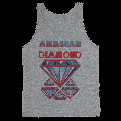 American Diamond Tank Top