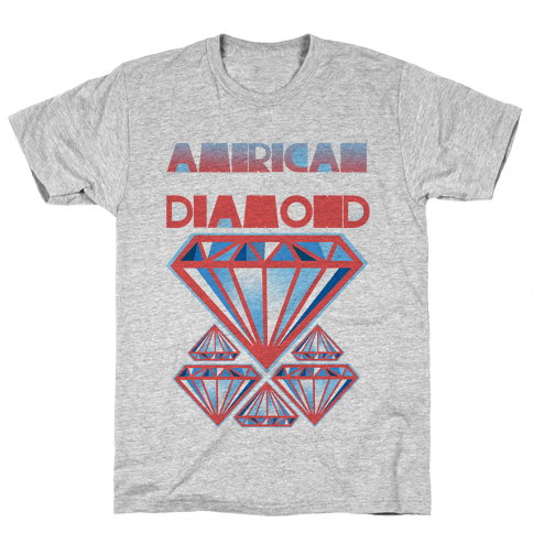 American Diamond Mens T-Shirt
