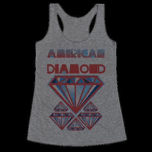 American Diamond Racerback Tank Top