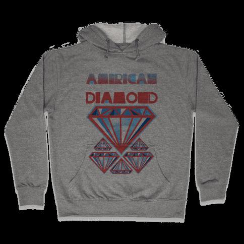 American Diamond Hooded Sweatshirt