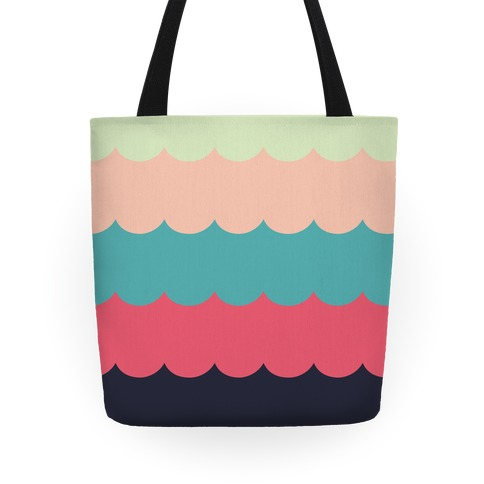 Color Waves Tote