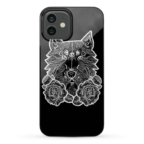 Seven Eyed Wolf Phone Case